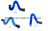 Welding Fume Extractor Arms with PVC Hose External Support