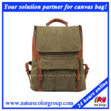 Mens Leisure Canvas Backpack for Laptop and Campus