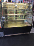 Curved Glass Cake Display Refrigerator/Counter Refrigerator Display