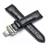 Curve Head Leather Watch Bands