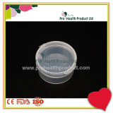 Clear PP Plastic Round Container / Box / Case With Lid