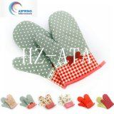 100% Cotton Printed Microwave Oven Gloves