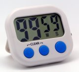 Digital Kitchen Count up and Count Down Timer with Magnet & Sound Key