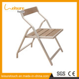 Indoor/Outdoor Patio Sitting Room Wooden Stool Furniture Aluminum Polywood Folding Chair