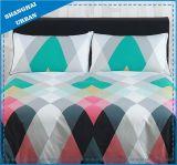 Color Patchwork Design Microfiber Duvet Cover Bedding