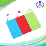 OEM 4000mAh Ultra Slim Credit Card Power Bank Portable with Ce Certificate