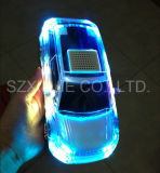 2017 Creative Products Mini Portable LED Home Wireless Bluetooth Car Shape Speaker for Computer Mobile Phone with FM Radio