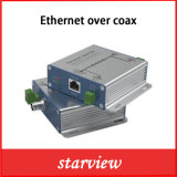 Poc&Eoc Transmitter and Receiver RJ45 to Coax Converter IP Over Coax Extender for Ipcam 300m (1000FT)