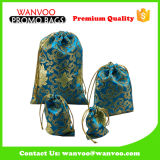 Embroidery New Year&Chirstmas Gift Bag for Children with Good Silk Fabric