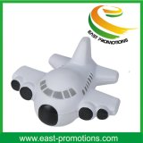 Plane Shape PU Foam Promotional Anti-Stress Ball