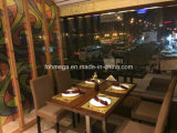 Saudi Arabia High-Class Restaurant Furniture Set Chairs and Table Design