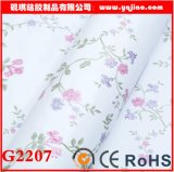 Pastoral Style Floral Wallpaper PVC Self-Adhesive Stickers