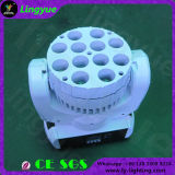 Stage Disco RGBW LED Mini Beam Moving Head 12X12W UV