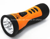 4 LED 0.5W Rechargeable LED Flashlight X403 Torch