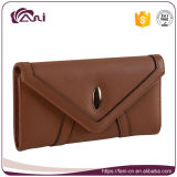 Fashion Cheap Wholesale Price Top Quality PU Leather Envelope Wallet Women Wallet