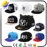 Hot Sell Cotton Flat Visor Fashion Cap Sports Hat and Baseball Cap
