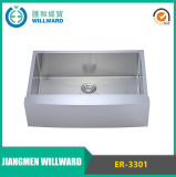Stainless Steel Er-3301 Farmhouse Handcraft Kitchen Sink