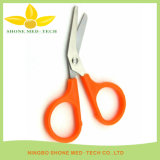 Stainless Steel Plastic Handle Medical Scissors