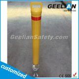 Round Metal Removable Bollard Traffic Warning Post for Sale