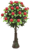 Plastic Tree Centerpiece for Table Setting Decoration