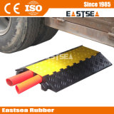 Outdoor Road Rubber 2 Channels Floor Cable Protector (DH-CP-7)