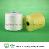 Ne50s/3 Original White 100% Polyester Spun Yarn