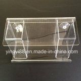 Custom Clear Acrylic Bird House with Strong Suction Cups