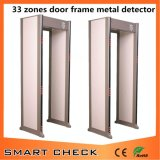 33 Zones Gate Type Metal Detector Body Scanner Metal Detector