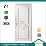 White Lacquer PVC MDF Interior Panel Solid Wood Door