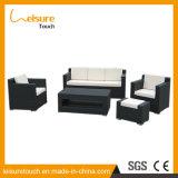 Fashion New Style Rattan/Wicker Black Outdoor Patio Hotel Furniture Garden Sofa Set