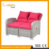 Indoor Leisure Furniture Garden Bedroom Balcony Lazy Sofa Rattan Deck Chair Gradient Adjustable