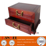 Viva Walnut Wooden Furniture Vanity Case