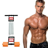 Chest Expander with 5 Removable Springs