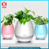 Bluetooth Speaker LED Light Music Smart Flower Pot
