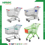 Zinc Galvanized Shopping Hand Grocery Trolley with Cheap Price