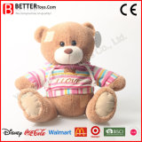 Plush Animal Patched Teddy Bear Soft Toy for Kids