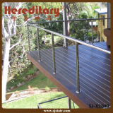 Exteriro Simple Design Deck Stainless Steel Cable Balustrade for Sale (SJ-X1049)
