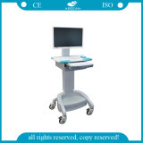 AG-Wt002 ABS Electric Hospital Computer Trolley