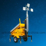 Cost Effective Silent Long Lasting Portable Solar Light Tower