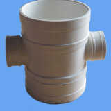 High Quality PVC Reducing Cross ,Water Drainage Pipe Fittings