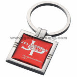 Promotion Metal Key Chain with Epoxy Logo (MK122)