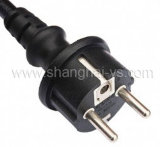 Certificated Power Cord Plug for Germany and European Countries (YS-01A)