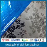 Decorative Etching Stainless Steel Plate Wall Panel 304