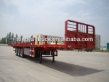 China Best-Selling 3 Axles Timber Semi Trailer