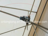 EU Style Greenhouse Steel Structure Rack for Roof Ventilation