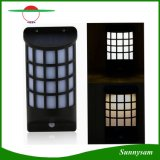 Solar Powered Solar Light Semicolumn Shape PIR Motion Sensor LED Lights Solar Lamp for Outdoor Garden Wall Yard