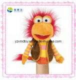 Funny Plush Red Hair Monkey Puppet (XMD-0080C)