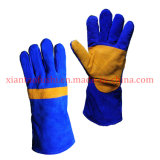 Cow Split Leather Palm Reinforced, Heat Resistant Gloves