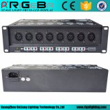 Stage Light High Performance 8 DMX Signal Amplifier for DMX Lighting Systemr