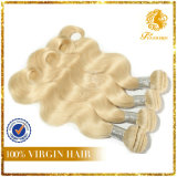 Color-#613 Blonde Hair 100% Virgin Remy Hair Full Cuticle Body Wave Hair Extension
